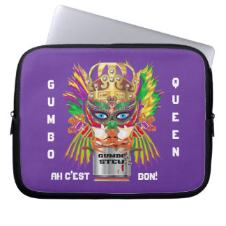 Gumbo Queen Case for ip-5 ipad Mini View Hints Computer Sleeves