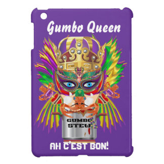 Gumbo Queen Mardi Gras View Hints please Cover For The iPad Mini
