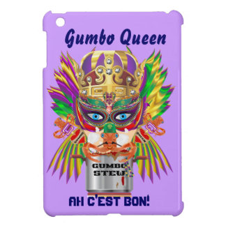 Gumbo Queen Mardi Gras View Hints please iPad Mini Cases