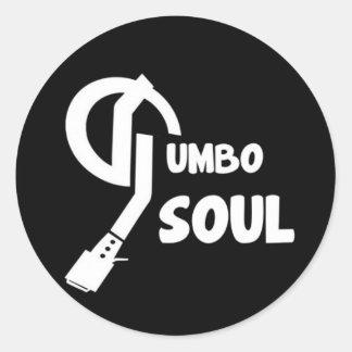 Gumbo Soul Stickers Black