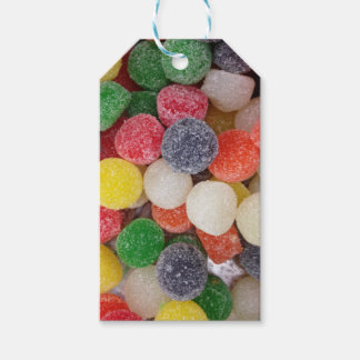 Gumdrops candy gift tags