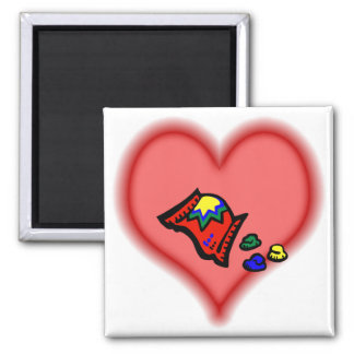 gumdrops square magnet
