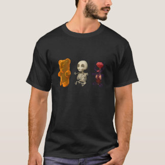Gummi Bear Anatomy Trip DARK T-Shirt