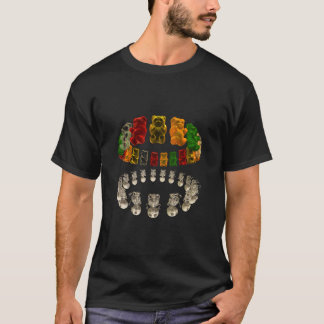 Gummi Bear Halo Reflection DARK T-Shirt