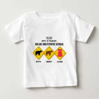 Gummi Bear Warning - Tahoe Wildlife Baby T-Shirt