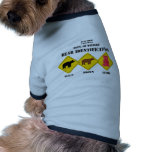 Gummi Bear Warning - Tahoe Wildlife Doggie T Shirt