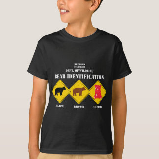 Gummi Bear Warning - Tahoe Wildlife T-Shirt