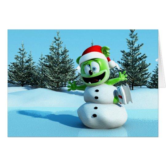 Gummibär Jolly Holiday Card