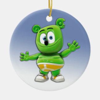 Gummibär Round Christmas Tree Ornament