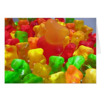 Gummy Bear Crowd Card