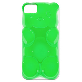 Gummy bear iPhone Case GREEN APPLE Case For The iPhone 5