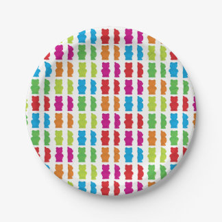 Gummy Bear paper plate