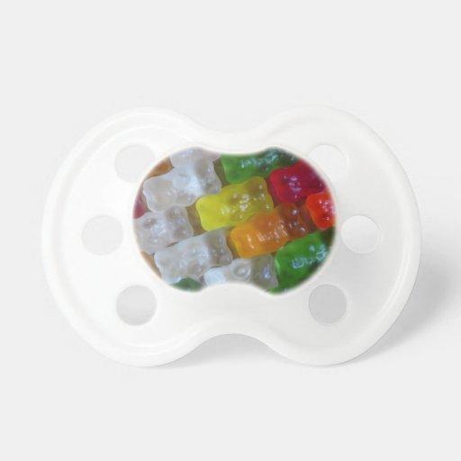 Gummy Bear Pattern Pacifier