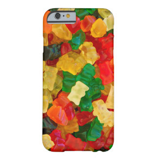 Gummy Bear Rainbow Colored Candy Barely There iPhone 6 Case