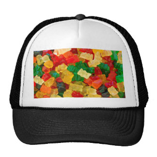 Gummy Bear Rainbow Colored Candy Cap