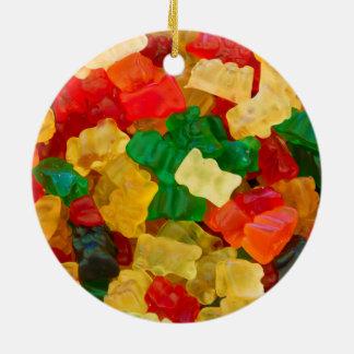 Gummy Bear Rainbow Colored Candy Christmas Ornament