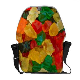 Gummy Bear Rainbow Colored Candy Commuter Bag