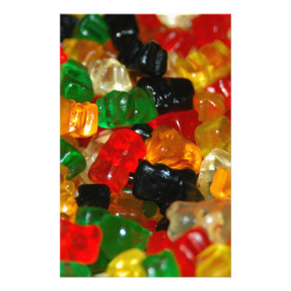 Gummy Bear Stationery