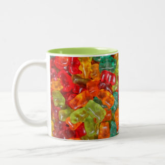 Gummy bears 2 tone mug coffee mug