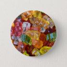 Gummy Bears Background 6 Cm Round Badge