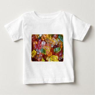 Gummy Bears Background Baby T-Shirt