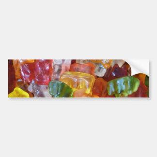 Gummy Bears Background Bumper Sticker