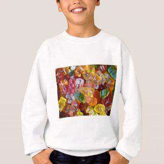 Gummy Bears Background Sweatshirt