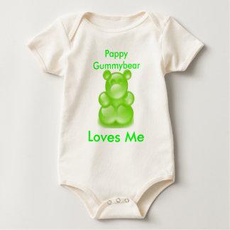 gummy bears, gummy bears, Pappy Gummybear , Lov... Baby Bodysuits