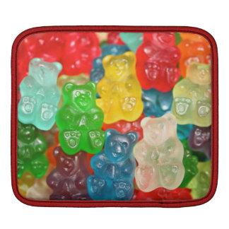 gummy bears sweet kid pattern, cute, colorful, fun iPad sleeves