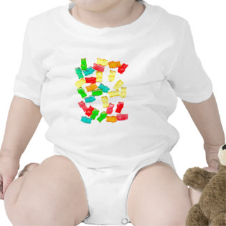 Gummy Bears Baby Bodysuits
