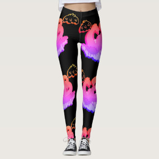 Gummy Grime CAB with Wings Graphic Leggings