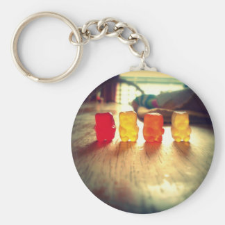 Gummy Gummy Gummy! Basic Round Button Key Ring