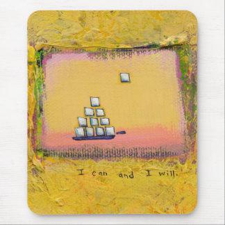 Gumption inspiration focus determination power art mouse pad