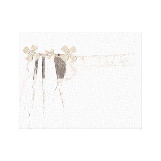 Gun Bride Canvas