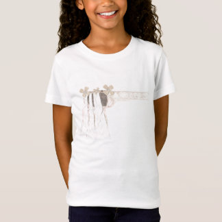 Gun Bride No Background Girl's T-Shirt