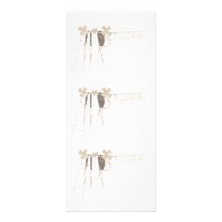 Gun Bride Rackcard 10 Cm X 23 Cm Rack Card
