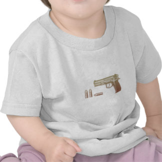 Gun- -Bullet T-shirt