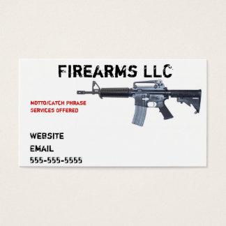 Gun Business Card