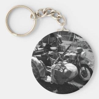 Gun carrying sidecar key ring