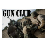 Gun Club Print