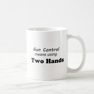 Gun Control Coffee Mugs