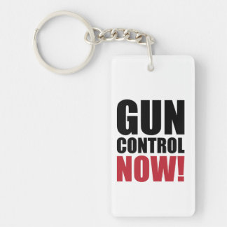 Gun control now key ring