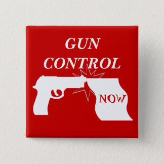Gun Control Now Pin Button