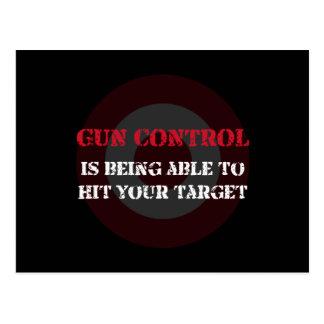 Gun Control Postcard