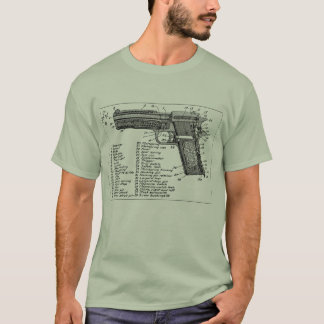 Gun Diagram T-Shirt