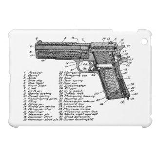 Gun Diagram V2 iPad Mini Cover