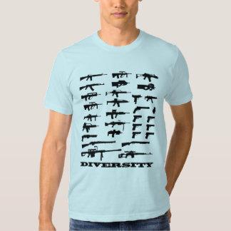 Gun Diversity Tee Shirts