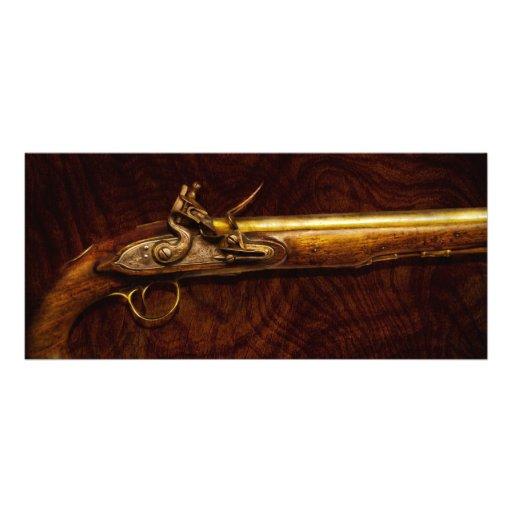 Gun - Flintlock Pistol Custom Rack Card
