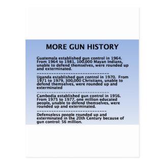 gun history postcard