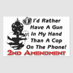 Gun In My Hand! Rectangle Sticker